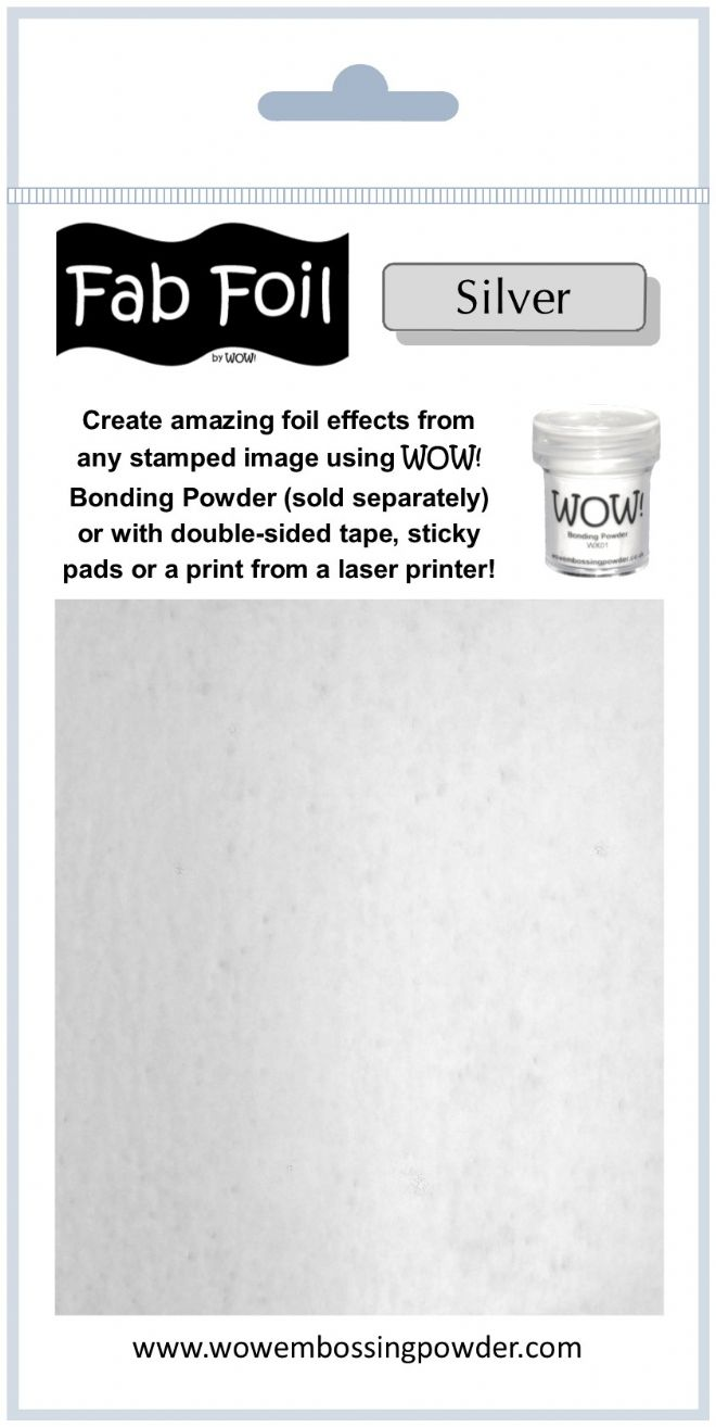 WOW! Fab Foil - Bright Silver
